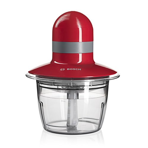 Bosch MMR08R2 Food Chopper, 400W, Red/Grey