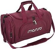 حقيبة دافل من القماش قابلة للطي للسفر من موسيسو، حقيبة امتعة للكتف خفيفة الوزن للرياضة وصالة الالعاب الرياضية
