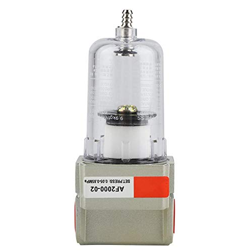 AF2000-02 1/4 Zoll Partikelfilter Kompressor Wasser Feuchtigkeitsfilter Reiniger