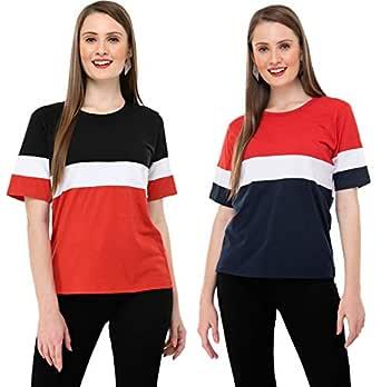 Neysa Women's T-Shirt (Pack of 2)