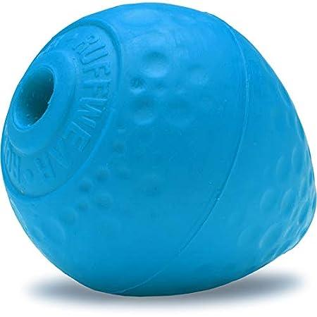 Ruffwear Kaufestes Hundespielzeug aus Gummi, Futter und Leckerli Aufbewahrung, One Size, Blau (Metolius Blue), Turnup