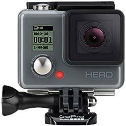 GoPro HERO - Videocámara deportiva (5 Mp, sumergible hasta 40 m), (versión alemana)