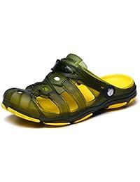 109322ad003d Mengxx Men s Summer Sandals Clogs Mules Garden Quick-Dry Walking Beach Pool  Non-Slip