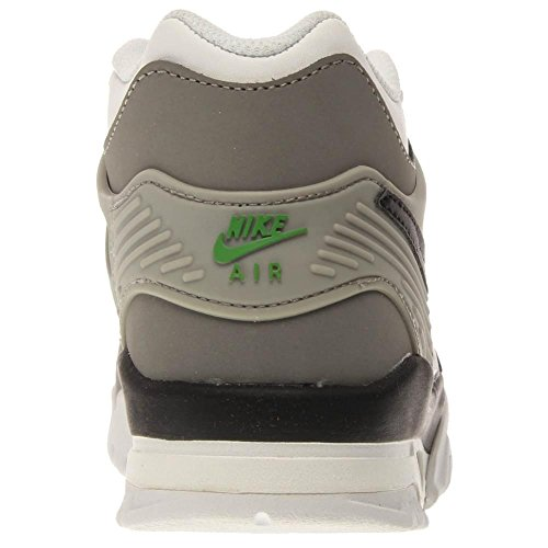 Nike Air Trainer 3 (Gs) Jungen Laufschuhe Weiß / Schwarz / Grau (Weiß / Schwarz-Chlrphyll-Mdm Gry)