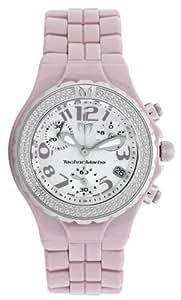 "TechnoMarine DTCV09C ""Technodiamond"" Chronograph with Diamond Bezel Lilac Watch"