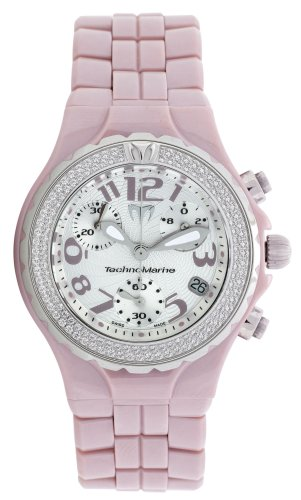 TechnoMarine DTCV09C - Reloj analógico de cuarzo para mujer con correa de cerámica