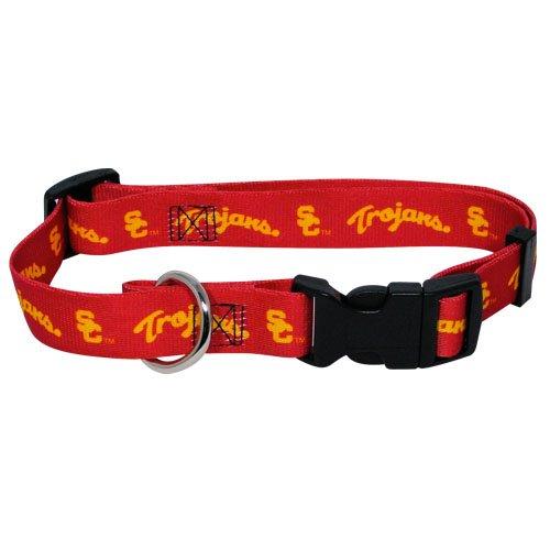 hunter-mfg-usc-trojans-dog-collar-medium-by-bama
