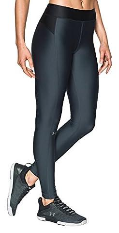Under Armour Damen UA HG Leggings, Stealth Gray, XL (Compression Capri Tights)
