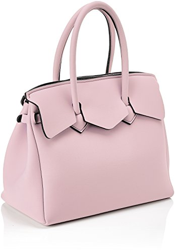save my bag Miss, Borsa a Mano Donna, 34x29x18 cm (W x H x L) Rosa (Soft Pink)