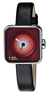 TACS Dice Analog Red Dial Women's Watch - TS1007B
