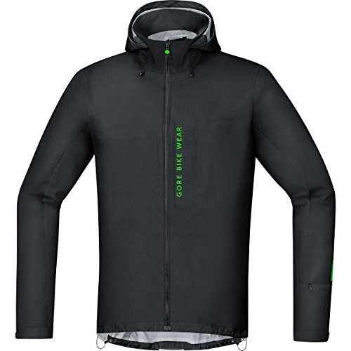 GORE BIKE WEAR JGPOWM990005,  Giacca Uomo da MTB,  Impermeabile,  GORE-TEX Active,  Power Trail GT AS,  Taglia L,  Nero