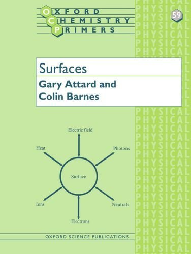 Surfaces (Oxford Chemistry Primers) 1st edition by Attard, Gary, Barnes, Colin (1998) Paperback