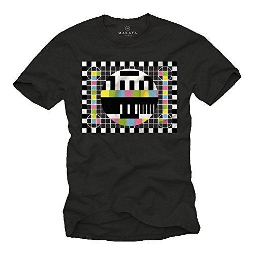 Big Bang Theory T-Shirt Testbild Herren/Männer schwarz Größe L