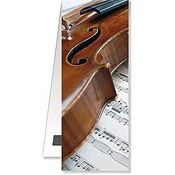 Anne Fuzeau Création Marque-Page magnétique - Violon - Cadeau Musique