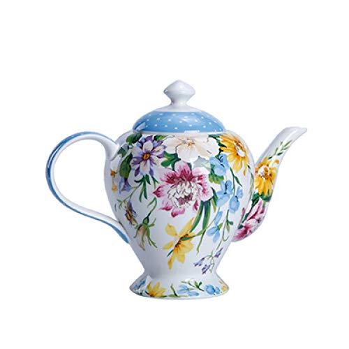 Teekanne, Nachmittagstee, Keramik, Filter, Teeservice, Teeservice, Weihnachtsgeschenk, Porzellan Big Pot A