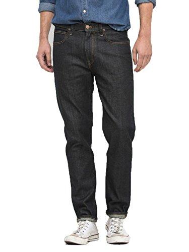 Jeans Regular Fit Tapered Leg Arvin Lee Bleu Brut Nero