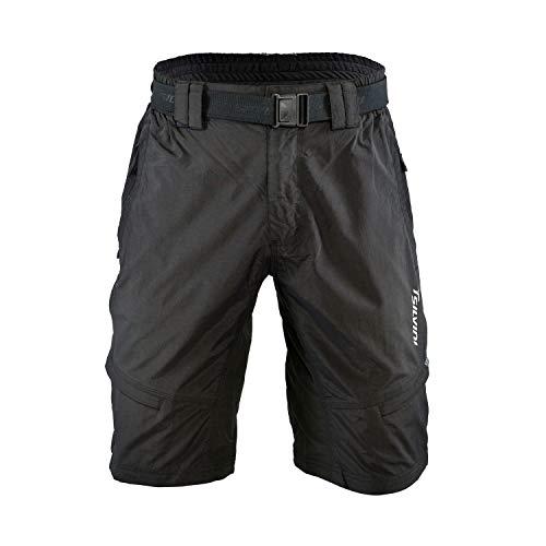 SILVINI Radhose Herren Rango mit 6 Taschen für Radfahren und Andere Outdoor-Aktivitäten Schwarz - XL