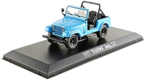 Greenlight Collectibles- 86309 - Jeep Cj 5 Dharma - Lost