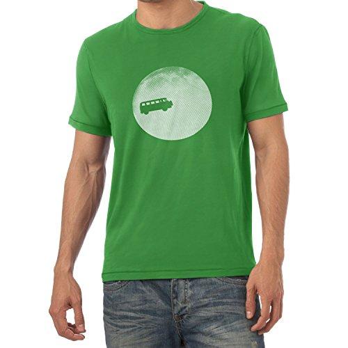 TEXLAB - Full Moon Bulli T2 - Herren T-Shirt Grün