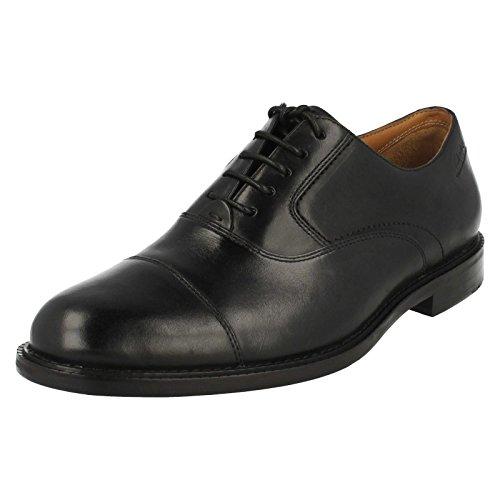 Clarks Dorset Boss, Herren Stiefel, Schwarz - Schwarz - Schwarz - Größe: 13 UK H/48 EU