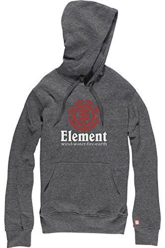 Element Vertical Hoodie Charcoal Heather