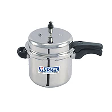 Master Aluminium Outerlid Pressure Cooker, 3 Litre, 1 piece,Silver Color
