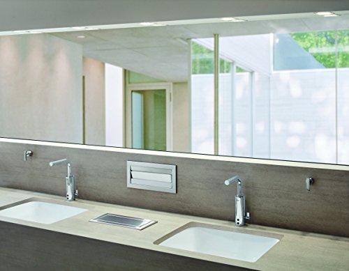 Grohe – IR Infrarot Waschbecken-Sensorarmatur, Kalt- und Warmwasser, mit Steckertrafo, Chrom, Essence E - 4