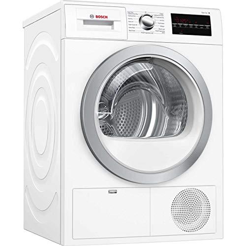 Bosch WTG86402GB Freestanding B Rated Condenser Tumble Dryer - White