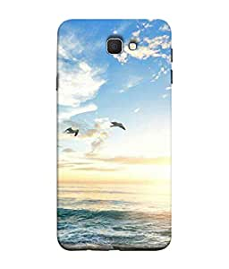 Digiarts Designer Back Case Cover for Samsung Galaxy J7 Prime (2016) (Nature Pet Widlife Cute Sweet)