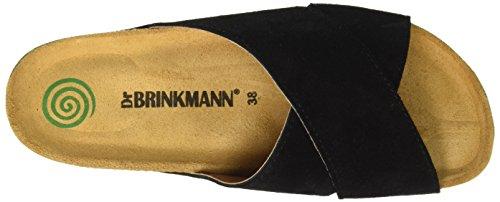 Dr. Brinkmann 700922, Mules femme Noir - Noir