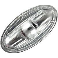 Topker indicador Lateral indicador repetidor Ámbar Girar sustitución Luz de señal para Peugeot 108 107 206