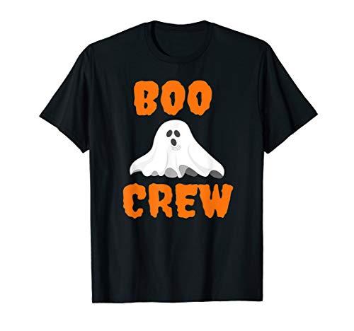 Kostüm Erwachsene Für Boo - Boo Crew-Lustiger gruseliger Geist Halloween-Kostüm  T-Shirt