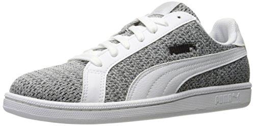 Puma Mens Smash Knit Fashion Sneaker Puma White/Puma White