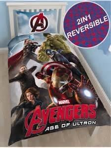 Character World Disney Marvel Avengers Age Of Ultron set copripiumino per letto singolo