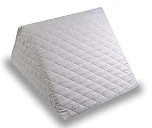 coussin inclin pour le lit en mousse avec matelass e couverture amovible et lavable oreiller. Black Bedroom Furniture Sets. Home Design Ideas