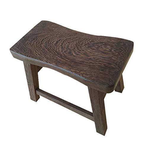 Mahagoni-massivholz Sitz (ZHZHPSFD Chicken Wing Wood Niedriger Hocker Bank Mahagoni Hocker Ändern Schuhe Hocker Kinder Sitzen Hocker Massivholz Kleine Holzbank Lange Massivholz Hocker)