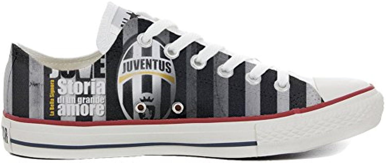mys Converse All Star Low Customized Personalisiert Schuhe Unisex (Gedruckte Schuhe) Slim Vertikale Streifen