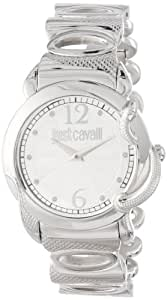 Just Cavalli Eden Women's Quartz Watch with Silver Dial Analogue Display and Silver Stainless Steel Strap R7253576503