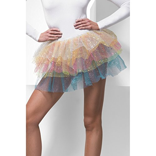Preisvergleich Produktbild Glitzer Paillettenrock Prinzessin Rock Pailletten Ballerina Tütü Regenbogen Tutu Karnevalskostüme Damen Sexy Märchen Fee Minirock Feen Rüschenrock