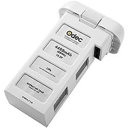 Odec Batterie de Remplacement, 15,2V 4480mAh Accu LiPo Rechargeable pour DJI Phantom 3 Standard, DJI Phantom 3 Professional, DJI Phantom 3 Advanced, DJI Phantom 3 SE et 4K Drones - Mise à niveau