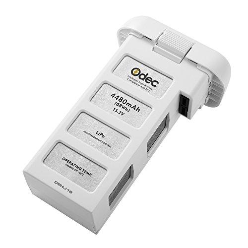 Odec LiPo Akku für DJI Phantom 3 Standard, DJI Phantom 3 Professional, DJI Phantom 3 Advanced, DJI Phantom 3 SE und 4K Drones, 15,2V 4480mAh - Aufgerüstet