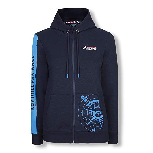 Red Bull Air Race Compass Zip Hoodie, Blau Damen Large Kapuzenpullover Air Race Original Bekleidung & Merchandise