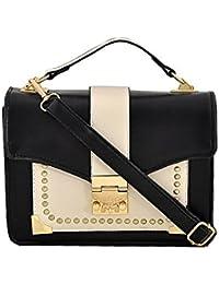 Mark & Keith Women Black Handbag(MBG 0468 BK)