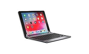 BRYDGE 9.7, Hochwertige Bluetooth Tastatur aus Aluminium, deutsches Layout QWERTZ, für das iPad Air, Air 2, iPad Pro, iPad 2017 und das neue iPad 2018, space grau