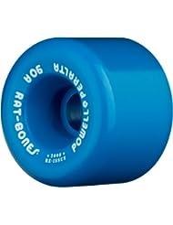 Powell WSBARAT6090B4 Rat Bones - Juego de 4 ruedas (60 mm)