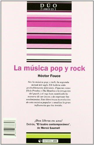 La música poprock y El teatro contemporáneo (DUO)