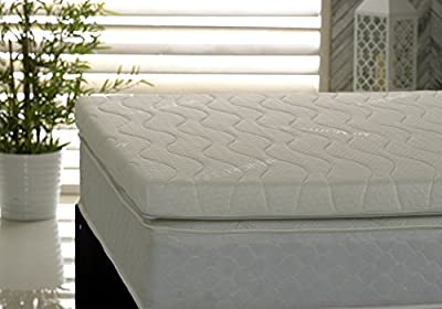 Visco Therapy Memory Foam Fibre 3Inch (7.5cm) Mattress Topper with Free Luxury Cover