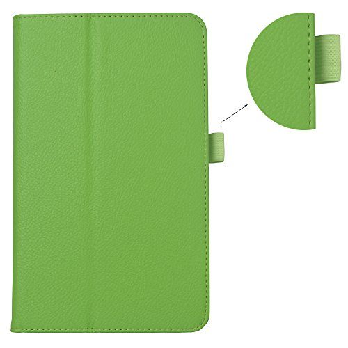 Spritech ™-Custodia fatta a mano in 3D con Design-Custodia Slim-Fit in ecopelle con supporto Smart Cover, PT-1, iPhone 5c Verde