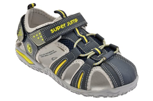 Superjump 2450 Velcro Sandales Neuf Chaussures E. Bleu
