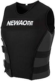 Lixada Adults Life Jacket Neoprene Safety Life Vest for Water Ski Wakeboard Swimming